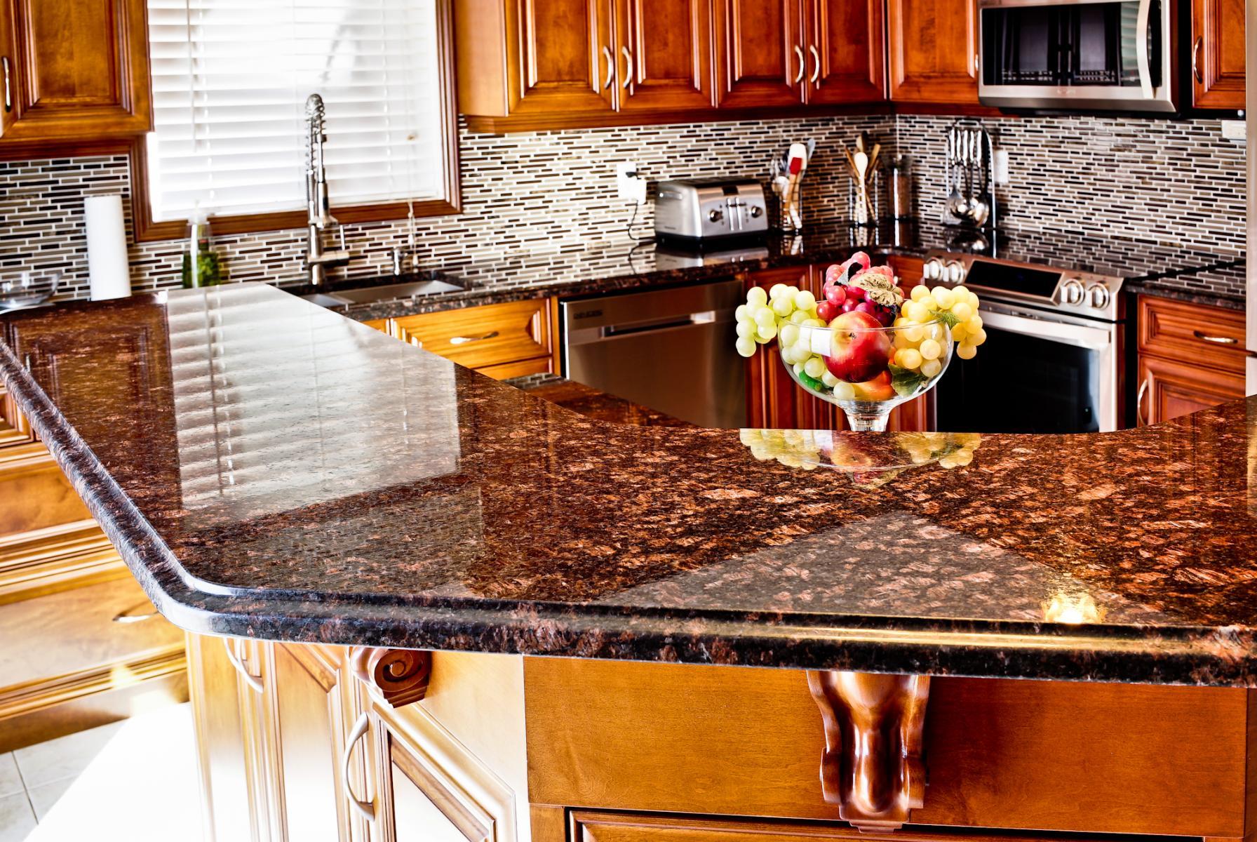 countertops granite design backsplash ideas tan of for countertop kitchen luxury brown