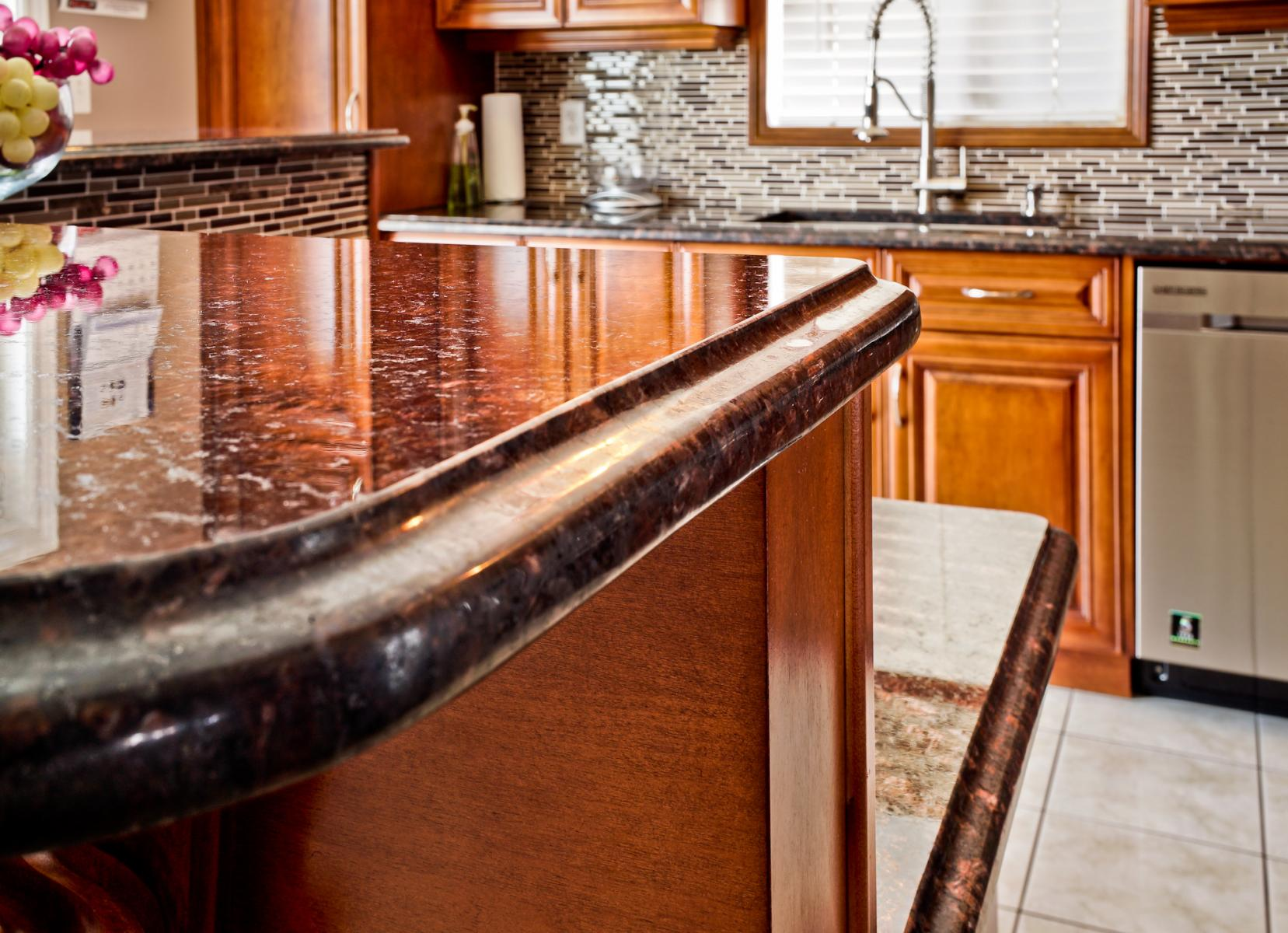 Tan Brown Granite Kitchen Tan Brown Kitchen European Art Stone